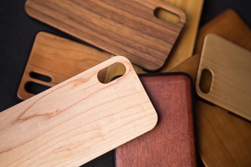 Funda de madera para Samsung personalizada con grabado laser. Samsung s7 s8 s9 s10