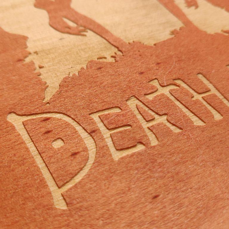Death Note - Serie anime cuadro madera decoracion coleccionista