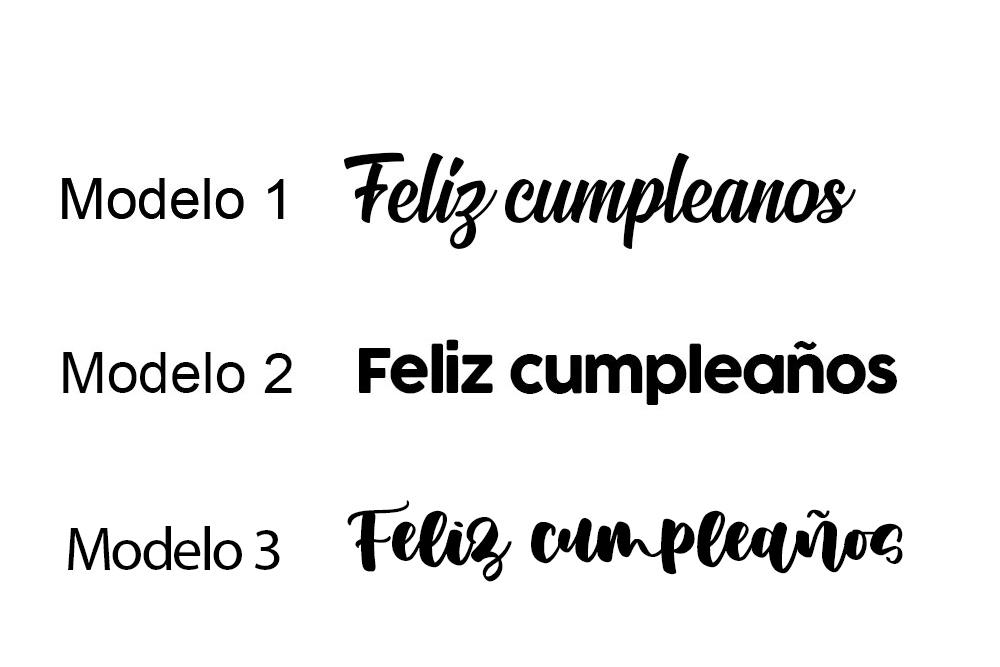 Toppers Personalizados de Acrílico en Colores – Cumpleaños y Bautizo