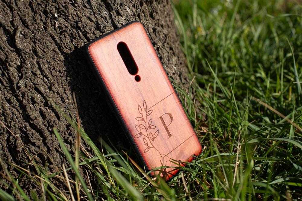 Funda madera Personalizada Xiaomi grabado láser Redmi 8, 8pro, 9